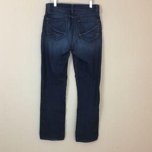 NYDJ Straight Leg Dark Wash Jeans sz 8
